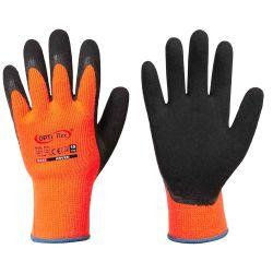 Lateksipinnoite, hyvä kylmänkesto, oranssi-musta, 10 gauge.
