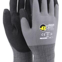 Nitriilipinnoitettu saumaton ja neulottu polyester-käsine 13G. Hyvä kulutuskestävyys ja hyvä  pito kuivissa, märissä ja öljyisissä olosuhteissa